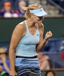 Maria Sharapova - 2014 Indian Wells BNP Paribas (Round 2 - 03/08/14)