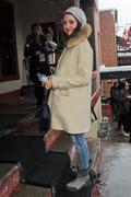 Alison Brie Arriving @ Bing Lounge At The Sundance Film Festival January 23, 2012