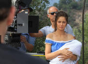 "Marie Ange Casta at the shooting of ""The Lovaganza Convoy: Part 2 - The Prophecy"" LQ, MQ"