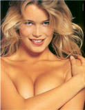 Claudia Schiffer - Guess Jeans, Topless, Fishnets (WoW)