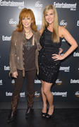 Sara Rue & Reba McEntire- Entertainment Weekly & ABC-TV Up Front VIP Party in New York 05/15/12- 2 HQ