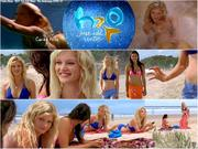 Cariba Heine, Phoebe Tonkin, Indiana Evans - H2O - Just Add Water - Season 3 - Collages