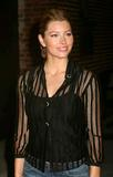 Jessica Biel - Leaving The David Letterman Show x2