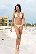 Падма Лакшми, фото 147. Padma Lakshmi - wearing a bikini on a beach in Mexico 12/30/11, foto 147