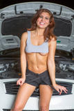 Stephy Parker - Stephys Working On The Car -o4foabashh.jpg